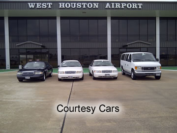 Courtesy Cars at West Houston Airport