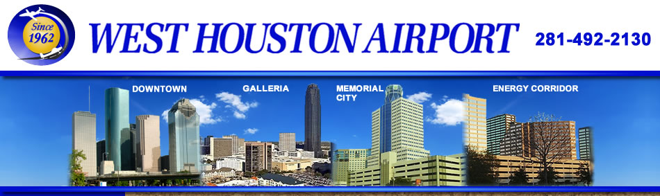 West Houston Airport Convenient to Downtown Houston, the Galleria, Memorial City, and the Energy Corridor